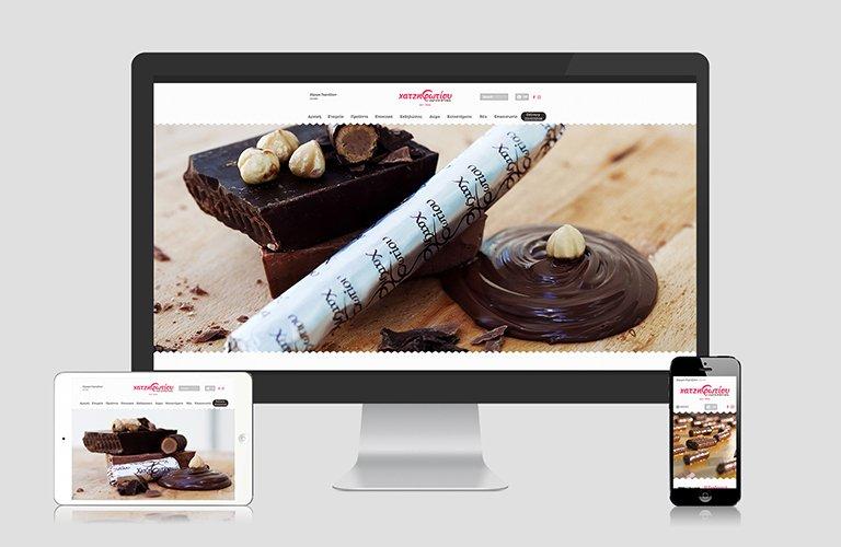 Κατασκευή Ιστοσελίδας Ζαχαροπλαστείων Χατζηφωτίου