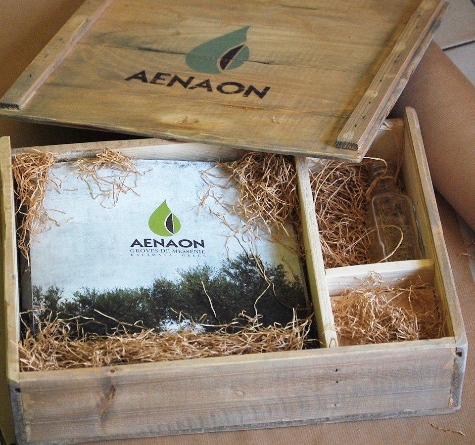 Aenaon - Packaging Presentation Box