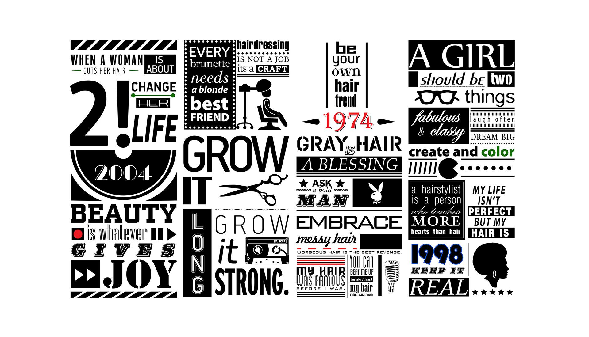 Kandrali - Typography