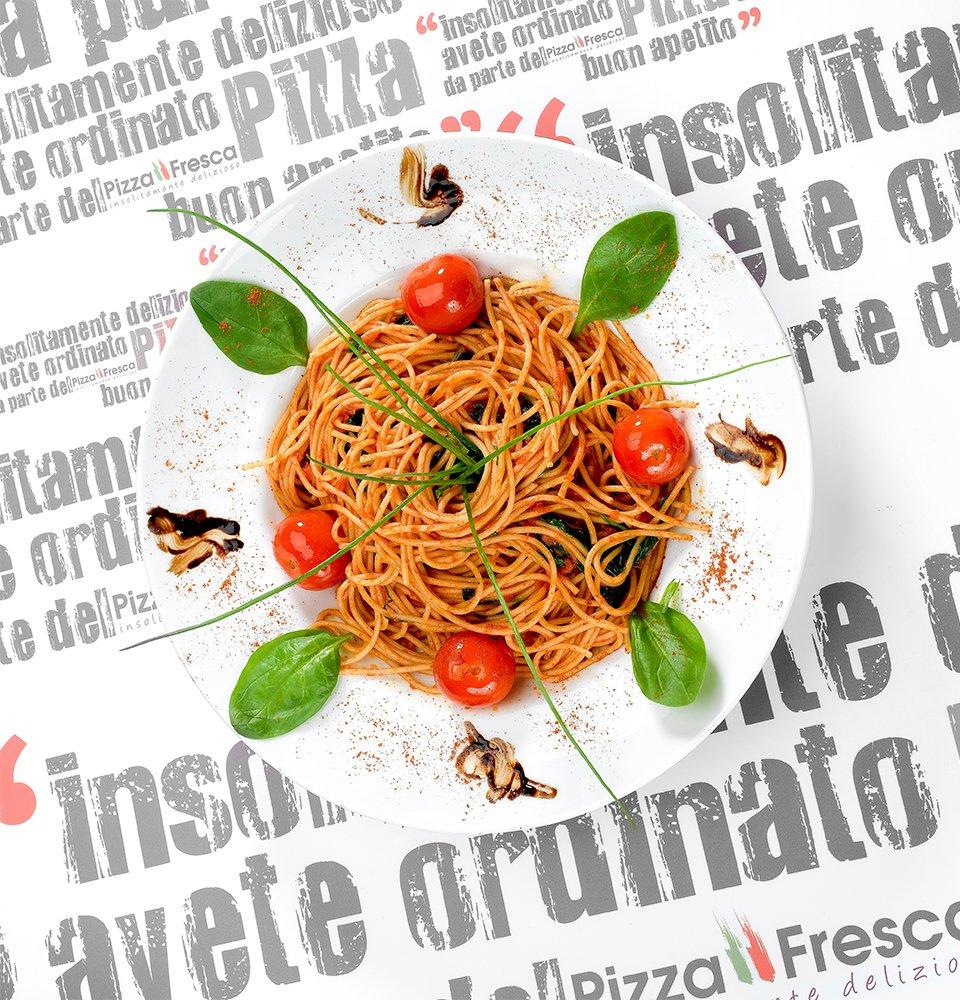 Pizza Fresca - Spaghetti