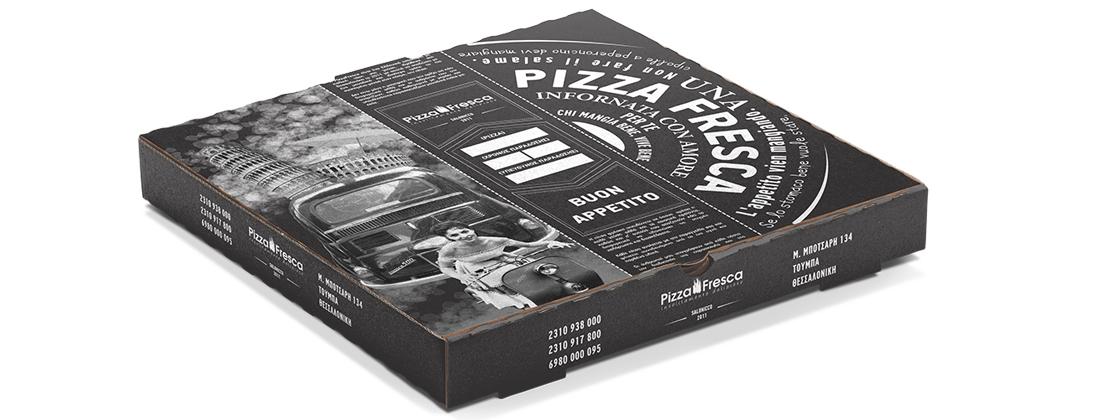 Branding, Γραφιστικές Υπηρεσίες - Pizza Fresca