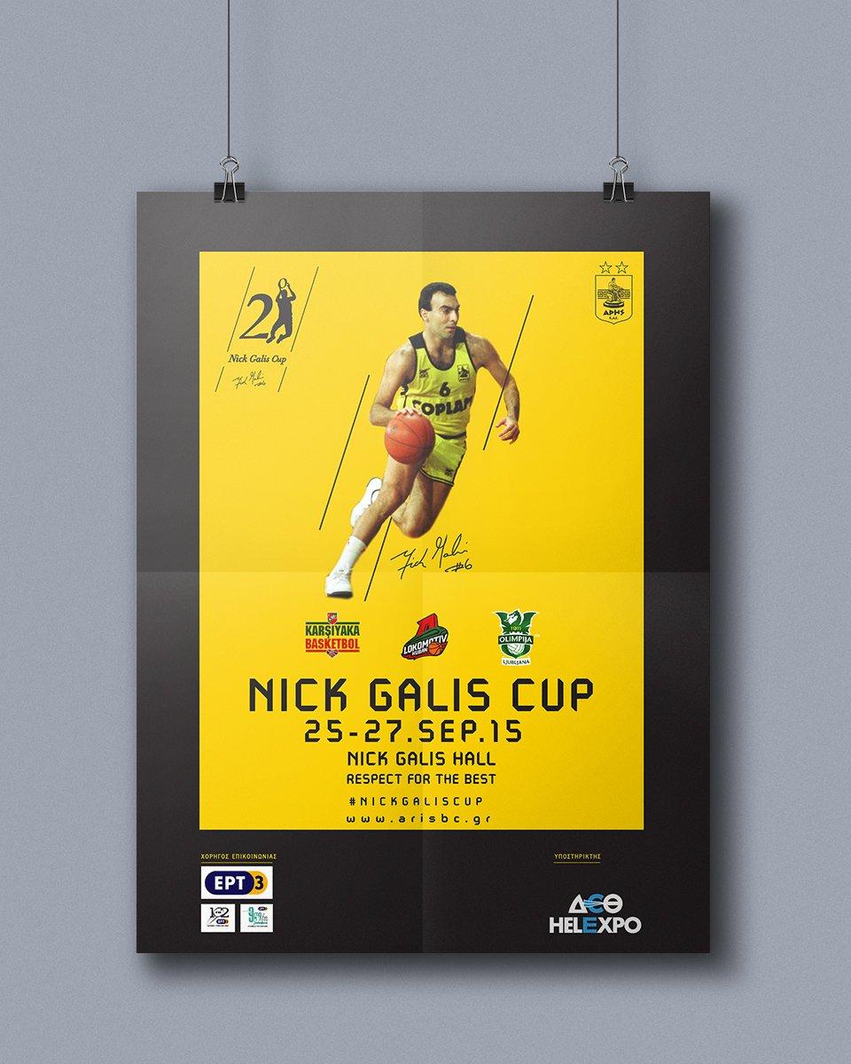 Nick Galis Poster Mockup