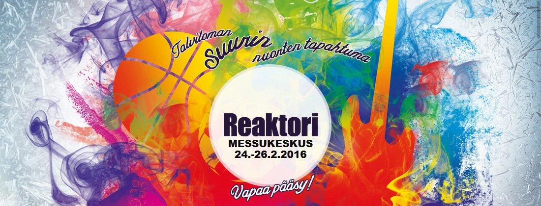 Δημιουργία animated αφίσας για το φεστιβάλ Reaktori