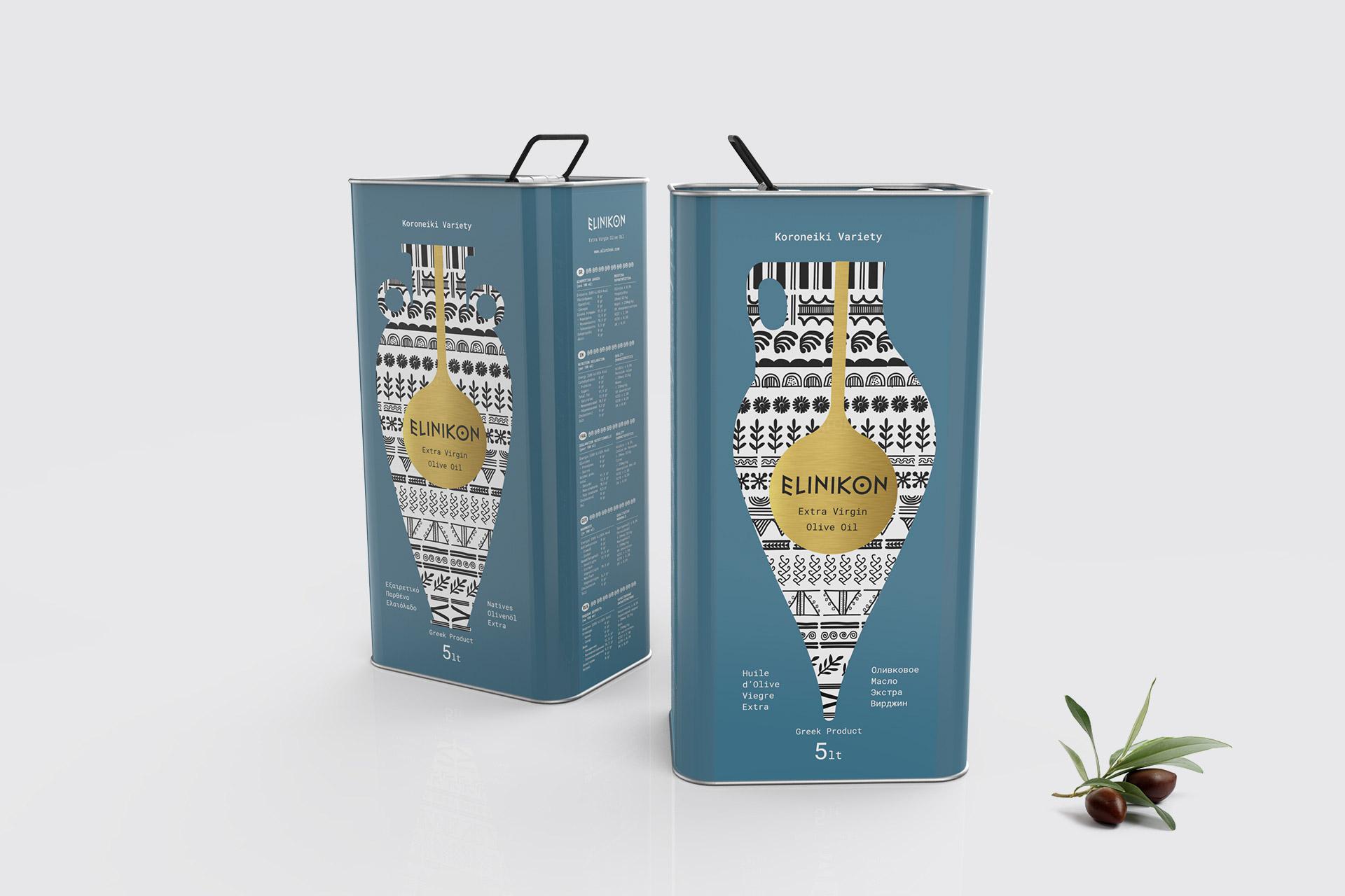 Σχεδιασμός Συσκευασίας Ελαιόλαδου