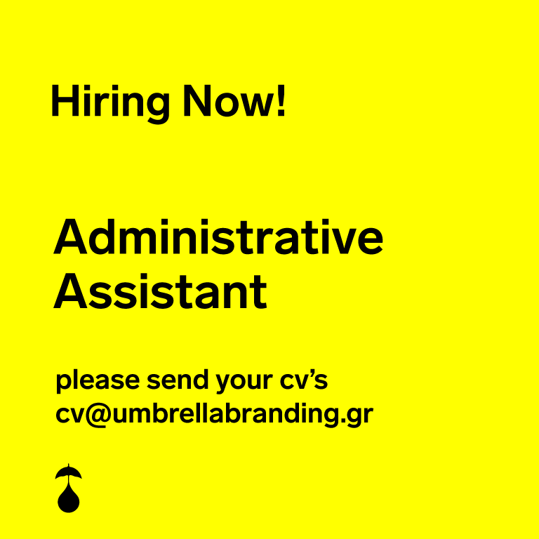 We are looking for an Administrative Assistant!
