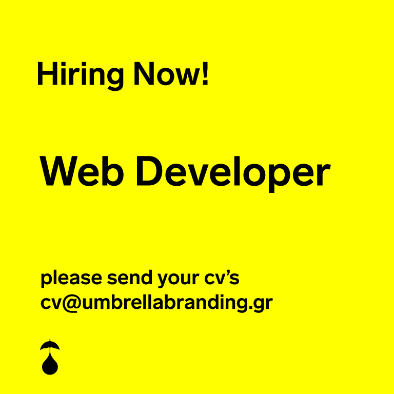 We are looking for a Front-End Web Developer!
