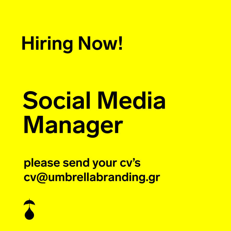 We are looking for a Social Media & Digital Content Manager!